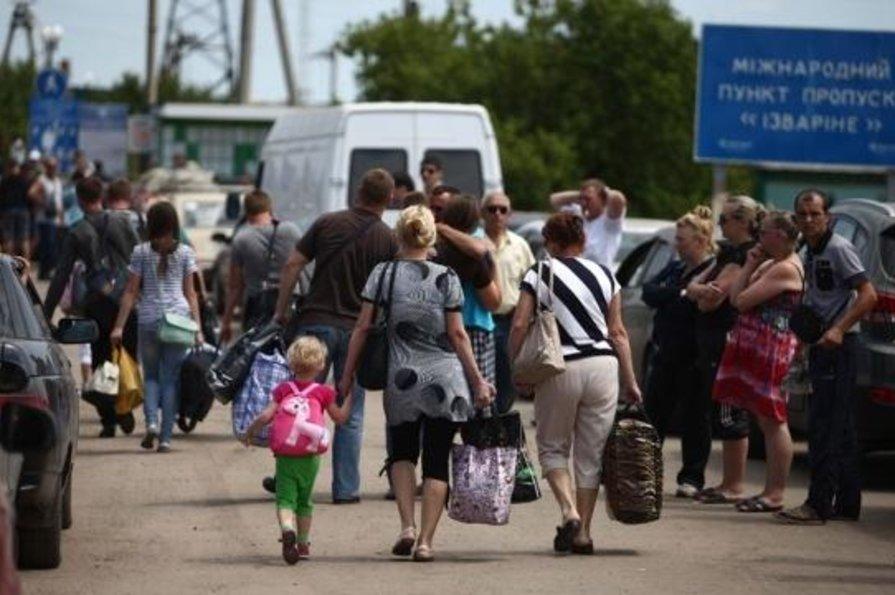 Знаком кто украины беженцами лично с