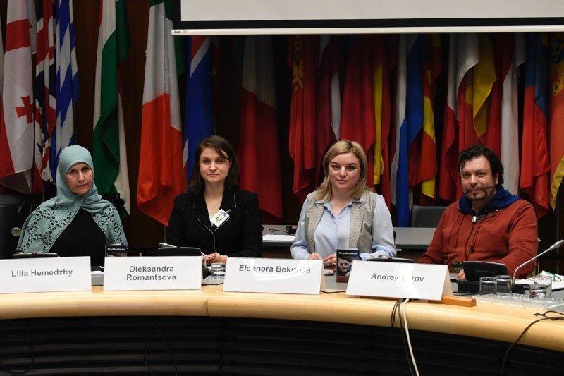 Дочь Эдема Бекирова выступила на заседании ОБСЕ в Вене